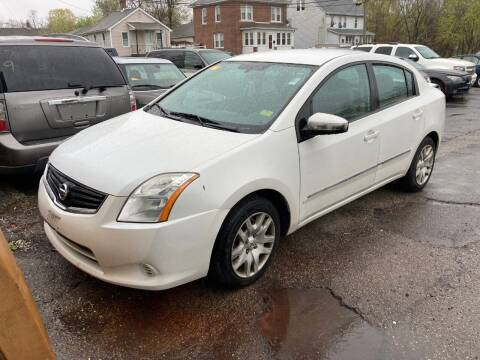 2012 Nissan Sentra for sale at ENFIELD STREET AUTO SALES in Enfield CT