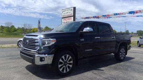 2018 Toyota Tundra for sale at Premier Auto Sales Inc. in Big Rapids MI