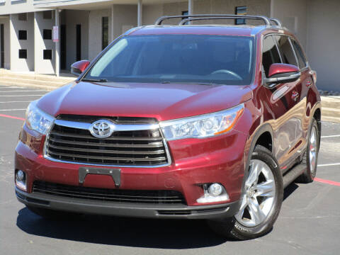 2015 Toyota Highlander for sale at Ritz Auto Group in Dallas TX