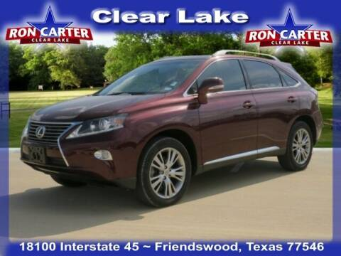 2014 Lexus RX 350 for sale at Ron Carter  Clear Lake Used Cars in Houston TX