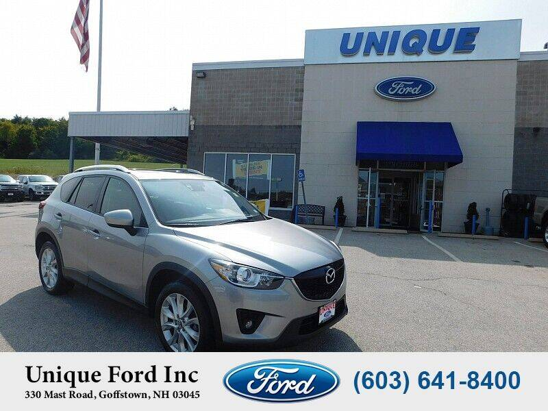 2015 Mazda CX-5 for sale at Unique Motors of Chicopee - Unique Ford in Goffstown NH