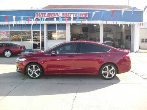 2015 Ford Fusion for sale at Wilson Motors in Junction City KS