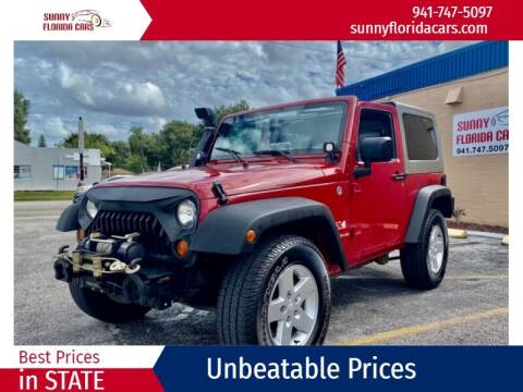 2008 Jeep Wrangler for sale at Sunny Florida Cars in Bradenton FL