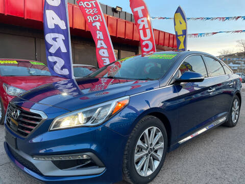 2016 Hyundai Sonata for sale at Duke City Auto LLC in Gallup NM