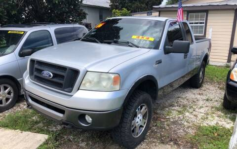 2006 Ford F-150 for sale at Castagna Auto Sales LLC in Saint Augustine FL