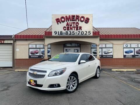 2013 Chevrolet Malibu for sale at Romeros Auto Center in Tulsa OK