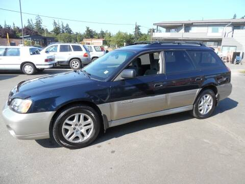 2002 Subaru Outback for sale at Gary's Cars & Trucks in Port Townsend WA