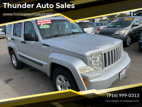 2012 Jeep Liberty for sale at Thunder Auto Sales in Sacramento CA
