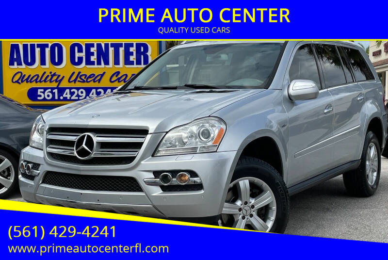 2010 Mercedes-Benz GL-Class for sale at PRIME AUTO CENTER in Palm Springs FL