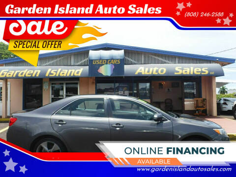 2014 Toyota Camry for sale at Garden Island Auto Sales in Lihue HI
