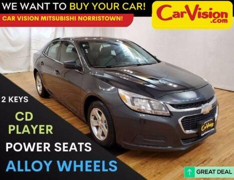 2014 Chevrolet Malibu for sale at Car Vision Mitsubishi Norristown in Trooper PA