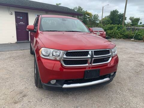 2011 Dodge Durango for sale at Excellent Autos of Orlando in Orlando FL