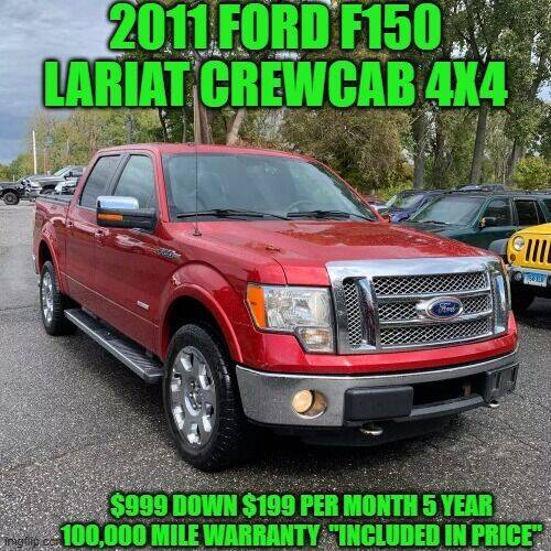 2011 Ford F-150 for sale at D&D Auto Sales, LLC in Rowley MA