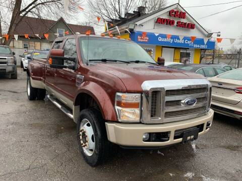 2008 Ford F-450 Super Duty for sale at C & M Auto Sales in Detroit MI