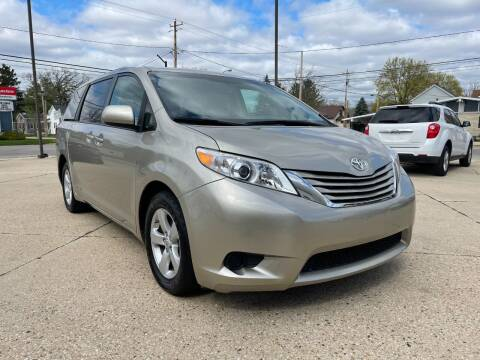 2017 Toyota Sienna for sale at Auto Gallery LLC in Burlington WI