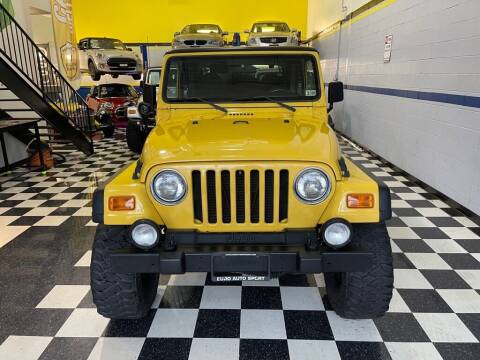 2001 Jeep Wrangler for sale at Euro Auto Sport in Chantilly VA