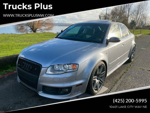 2007 Audi RS 4 for sale at Trucks Plus in Seattle WA