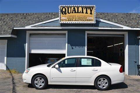 2007 Chevrolet Malibu for sale at Quality Pre-Owned Automotive in Cuba MO