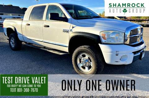 2008 Dodge Ram Pickup 2500 for sale at Shamrock Group LLC #1 in Pleasant Grove UT