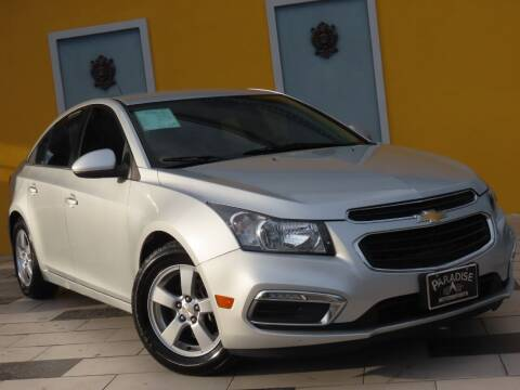 2015 Chevrolet Cruze for sale at Paradise Motor Sports LLC in Lexington KY
