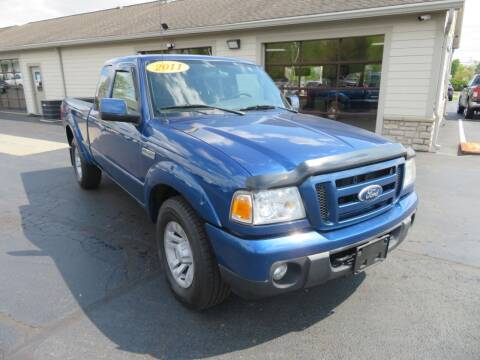 2011 Ford Ranger for sale at Tri-County Pre-Owned Superstore in Reynoldsburg OH