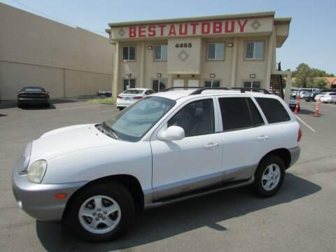 2004 Hyundai Santa Fe for sale at Best Auto Buy in Las Vegas NV