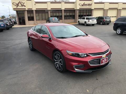 2017 Chevrolet Malibu for sale at ASSOCIATED SALES & LEASING in Marshfield WI