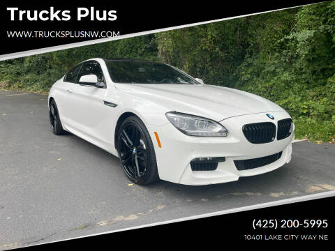 2015 BMW 6 Series for sale at Trucks Plus in Seattle WA