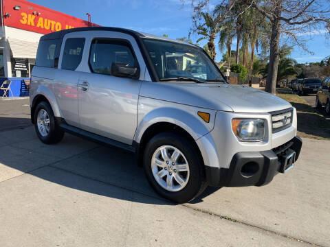 2007 Honda Element for sale at 3K Auto in Escondido CA