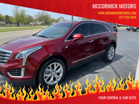 2017 Cadillac XT5 for sale at McCormick Motors in Decatur IL