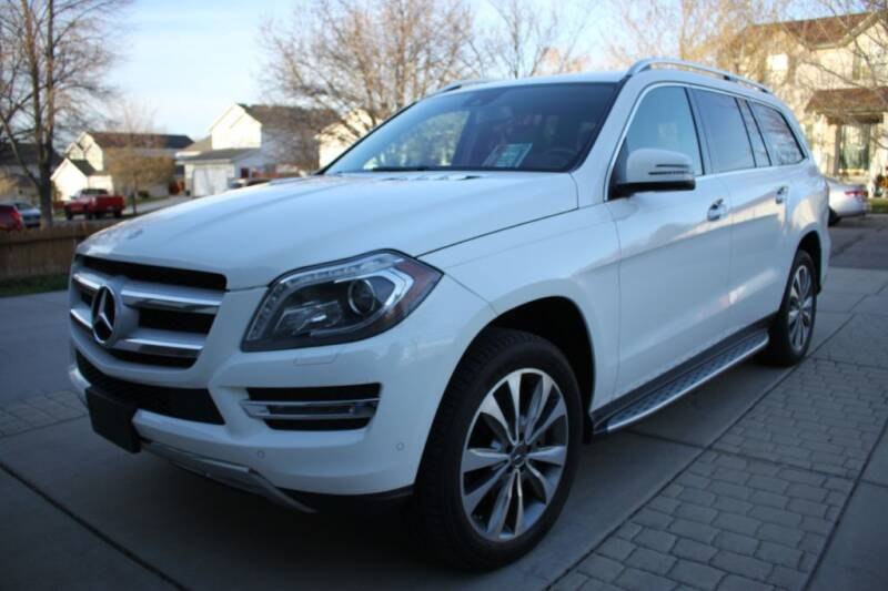 2014 Mercedes-Benz GL-Class for sale at Motor City Idaho in Pocatello ID