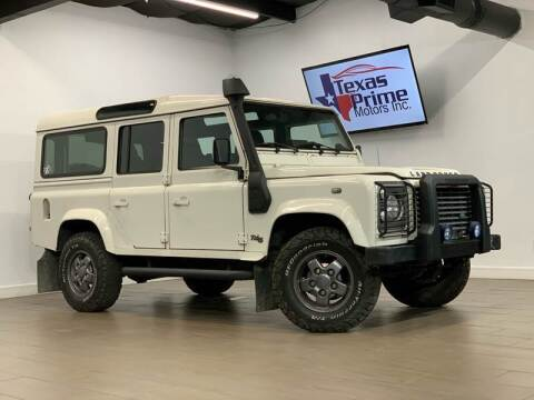 1992 Land Rover Defender for sale at Texas Prime Motors in Houston TX