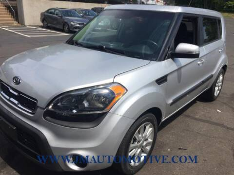 2012 Kia Soul for sale at J & M Automotive in Naugatuck CT