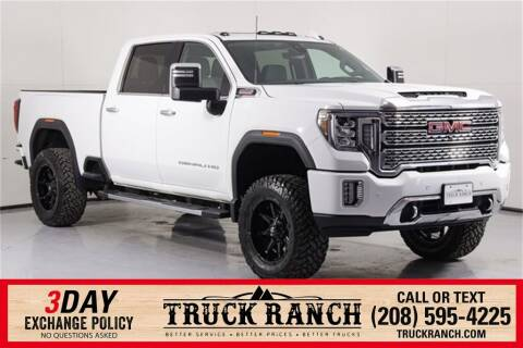 2020 GMC Sierra 3500HD for sale at Truck Ranch in Twin Falls ID
