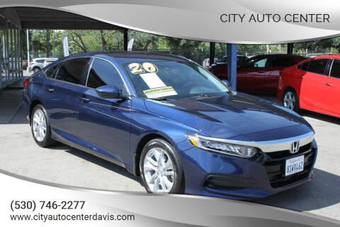 2020 Honda Accord for sale at City Auto Center in Davis CA