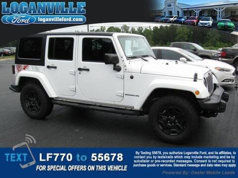 2016 Jeep Wrangler Unlimited for sale at Loganville Ford in Loganville GA