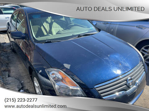 2008 Nissan Altima for sale at AUTO DEALS UNLIMITED in Philadelphia PA