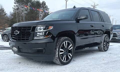 2018 Chevrolet Tahoe for sale at Affordable Auto Sales in Webster WI