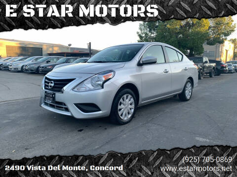 2018 Nissan Versa for sale at E STAR MOTORS in Concord CA