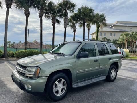 2003 Chevrolet TrailBlazer for sale at Gulf Financial Solutions Inc DBA GFS Autos in Panama City Beach FL