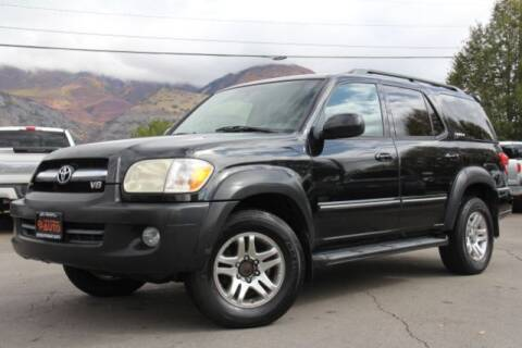 2006 Toyota Sequoia for sale at REVOLUTIONARY AUTO in Lindon UT
