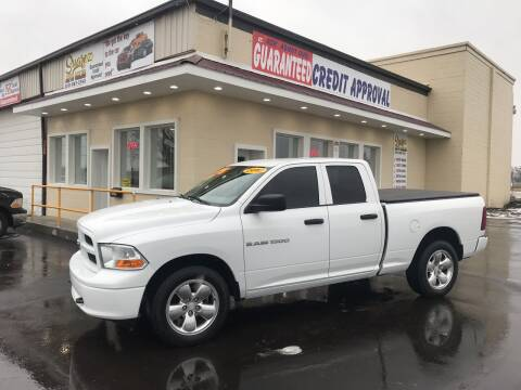 2012 RAM Ram Pickup 1500 for sale at Suarez Auto Sales in Port Huron MI