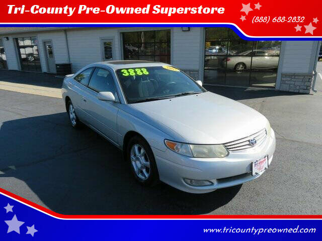 2003 Toyota Camry Solara for sale at Tri-County Pre-Owned Superstore in Reynoldsburg OH