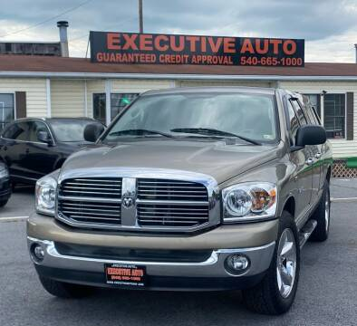 2008 Dodge Ram Pickup 1500 for sale at Executive Auto in Winchester VA