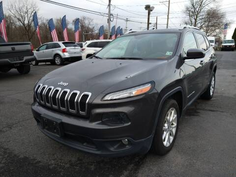 2015 Jeep Cherokee for sale at P J McCafferty Inc in Langhorne PA