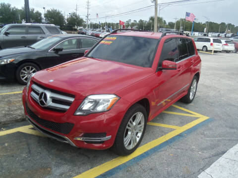 2013 Mercedes-Benz GLK for sale at ORANGE PARK AUTO in Jacksonville FL