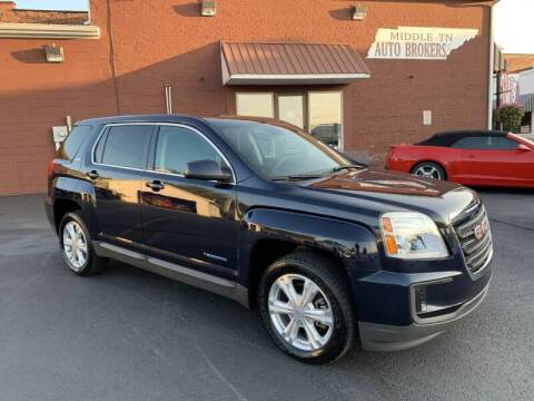 2017 GMC Terrain for sale at Middle Tennessee Auto Brokers LLC in Gallatin TN