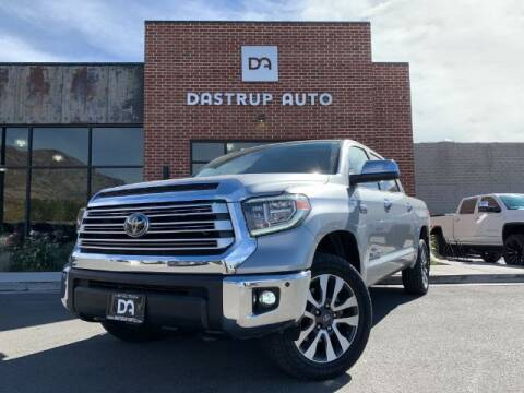 2019 Toyota Tundra for sale at Dastrup Auto in Lindon UT