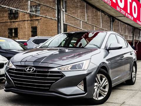 2019 Hyundai Elantra for sale at HILLSIDE AUTO MALL INC in Jamaica NY
