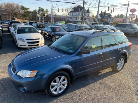 2007 Subaru Outback for sale at Masic Motors, Inc. in Harrisburg PA